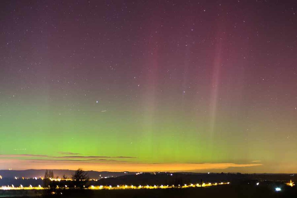 PICTURED Not So Northern Lights Captured In Staffordshire