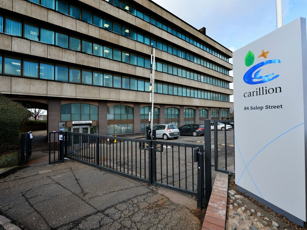 Carillion fallout: Government announces 377 job losses