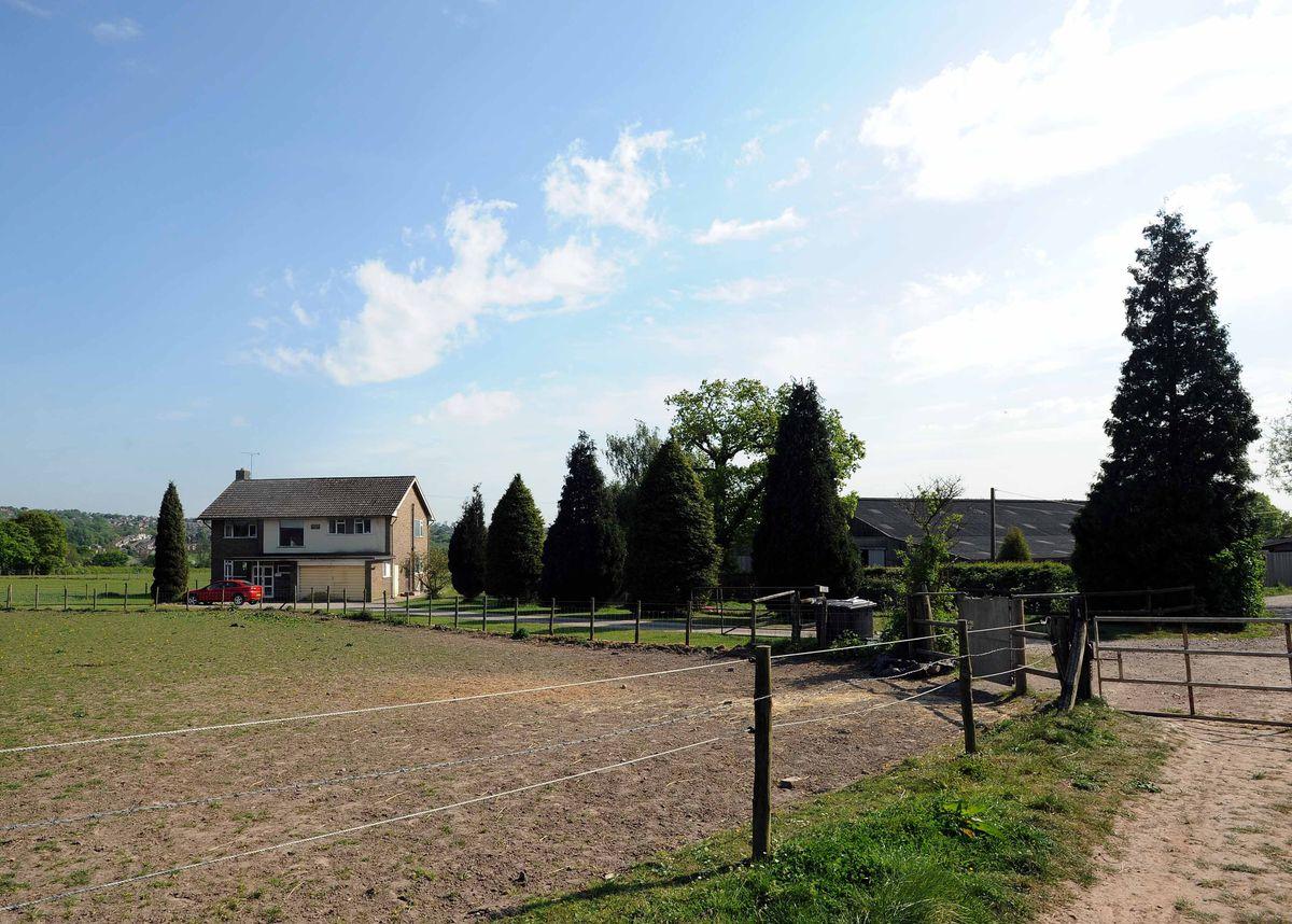 Pennwood Farm, part of the Seven Cornfields plot of land