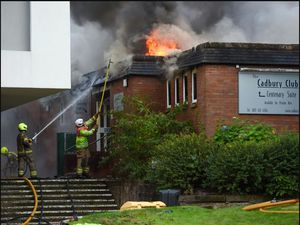 Firefighters tackled the blaze on Friday evening. Photo: SnapperSK