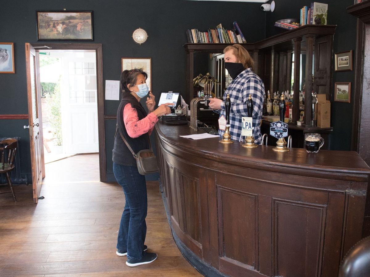 The Carlton Tavern in Maida Vale