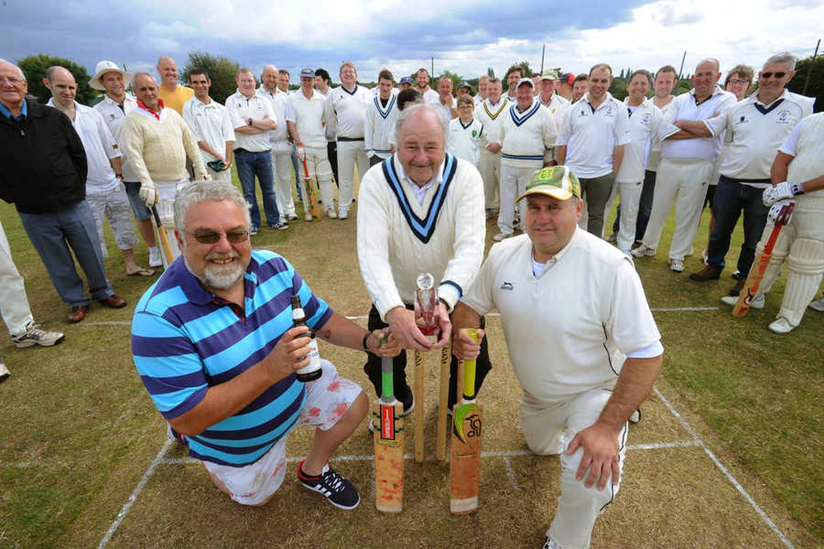 Charity cricket match in memory of former Walsall Council Labour Leader Tim Oliver