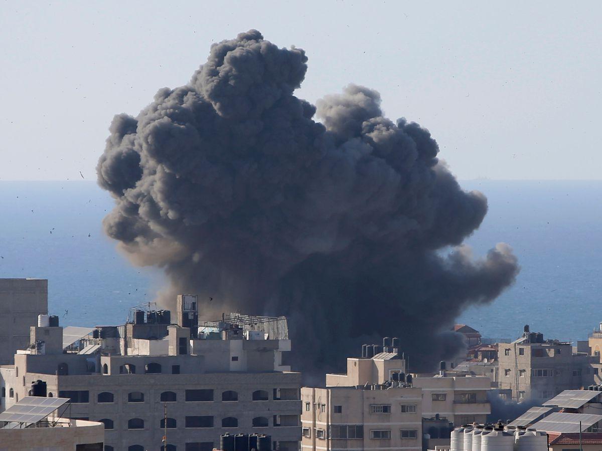 Gaza air strike