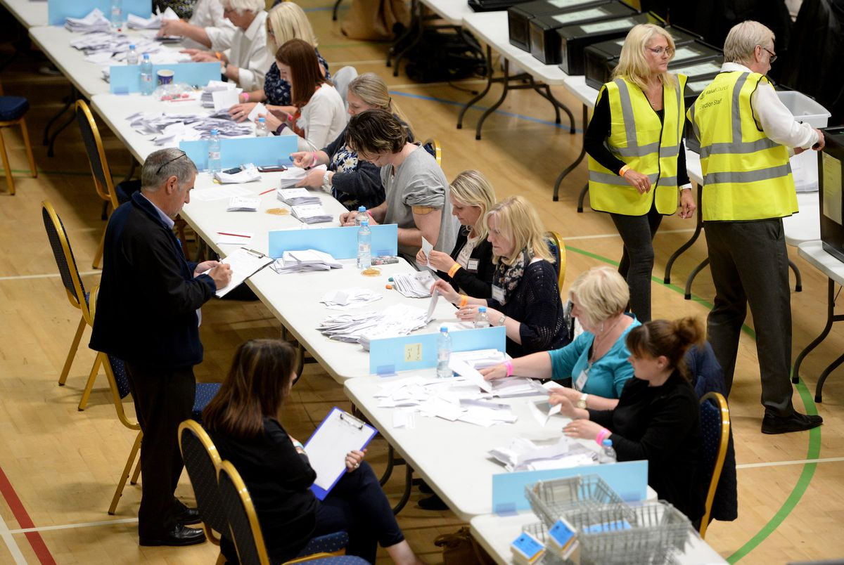 Local election counts are taking place overnight