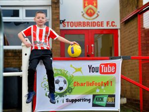 Charlie Moulsdale, aged eight, was due to take on the challenge earlier this year.