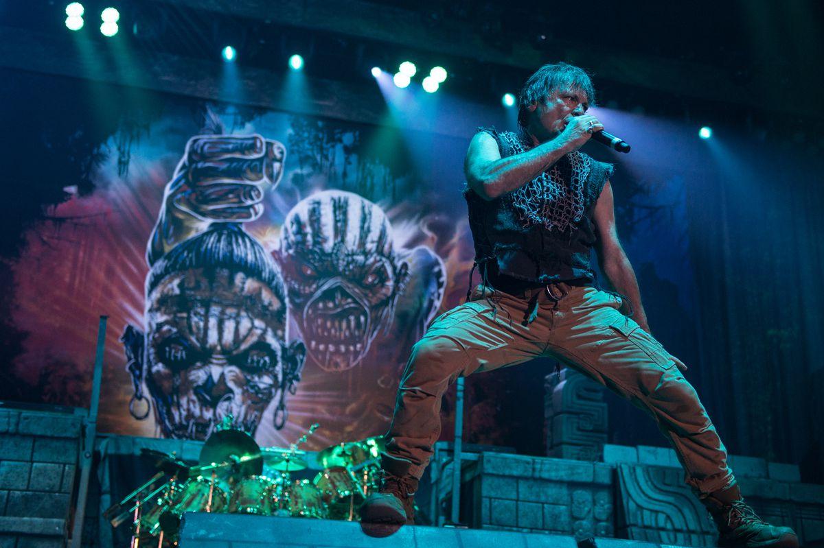 Iron Maiden talk ahead of Birmingham gig