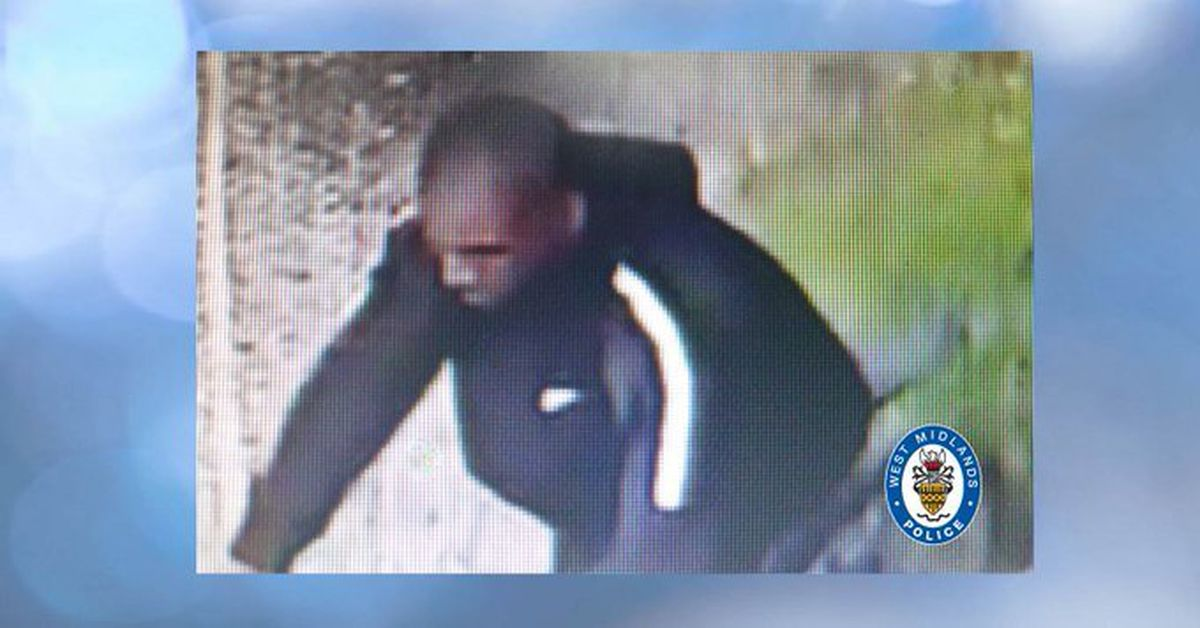 Police want to speak with this man. Photo: WMP