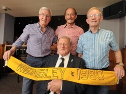Former Wolves boss John Barnwell and old boys reunite