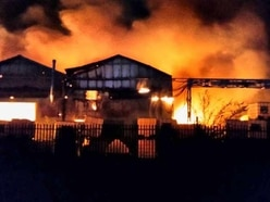 Wolverhampton factory fire: More than 100 firefighters tackle huge blaze - PICTURES and VIDEO