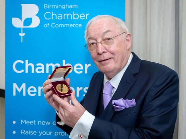 Merry Hill tycoon Roy Richardson hailed as 'titan' in business landscape