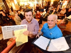 Contamination vow from group fighting Coseley traveller camp