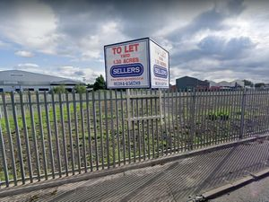 Land at the corner of Kendricks Road and Heath Road in Darlaston where a proposed haulage yard could be opened. PIC: Google