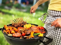 Licence to grill: Meat the men who love cooking over hot coals. . .