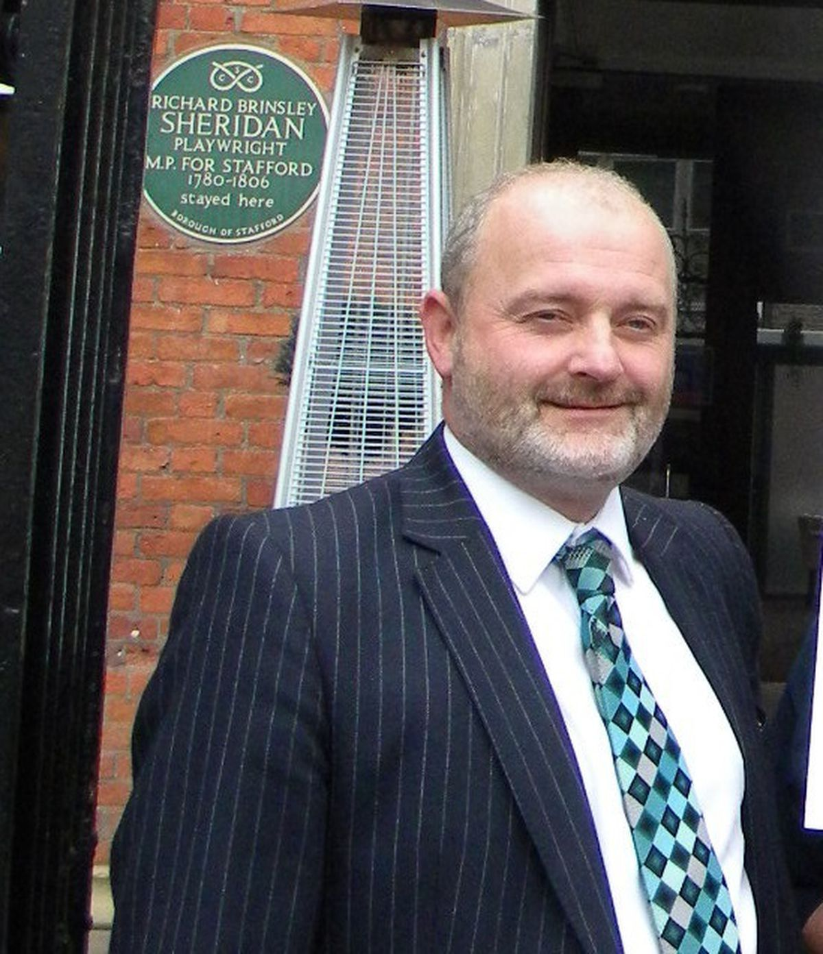 Stafford Borough Council Leader Patrick Farrington.