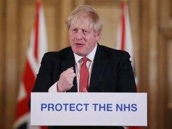 Boris Johnson in social distancing warning amid coronavirus concern