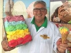 Philip's Pride in rainbow scoop ahead of Walsall celebrations