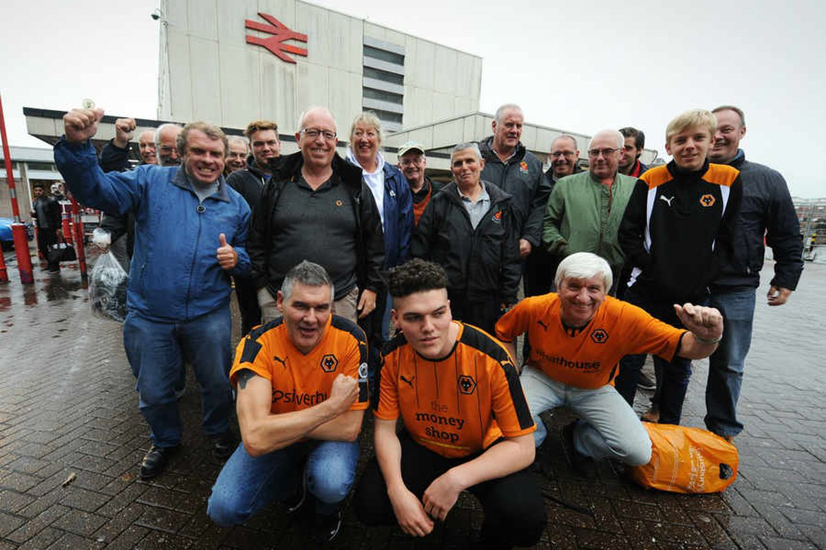 Golden moments from 50 years of supporting Wolves