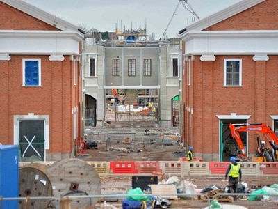 Latest look at new West Midlands Designer Outlet with jobs programme under way