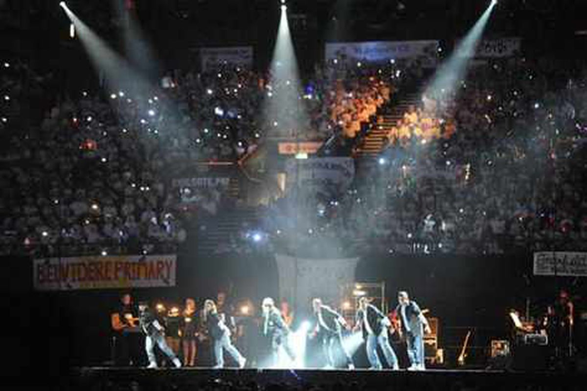Youngsters on song for Young Voices event
