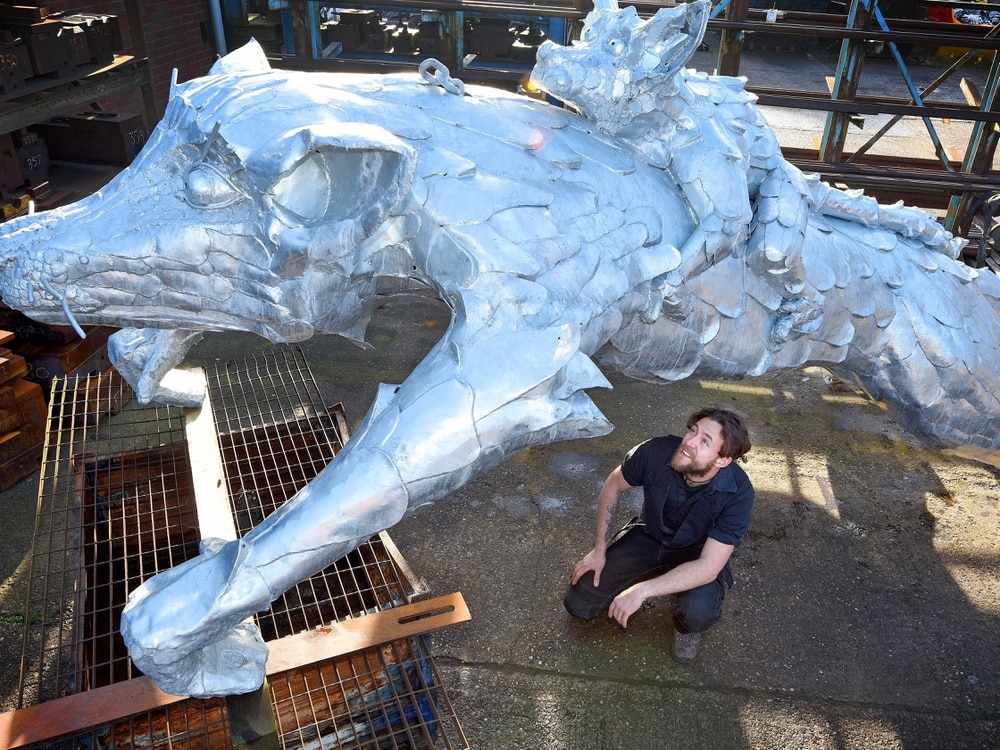 Lemur sculpture set to be installed at Dudley Zoo