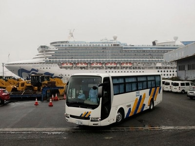 Coronavirus: UK couple on stricken cruise ship worry they have tested positive