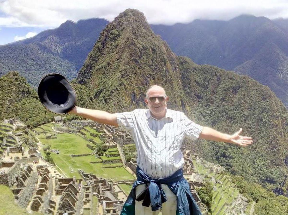 Geoff at Machu Piccu