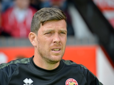 Darrell Clarke frustrated with officials following Crewe defeat