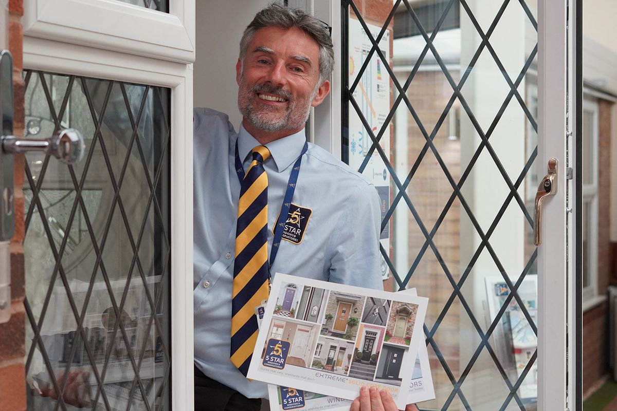 Richard Manser is managing director of 5 Star Windows and Conservatories