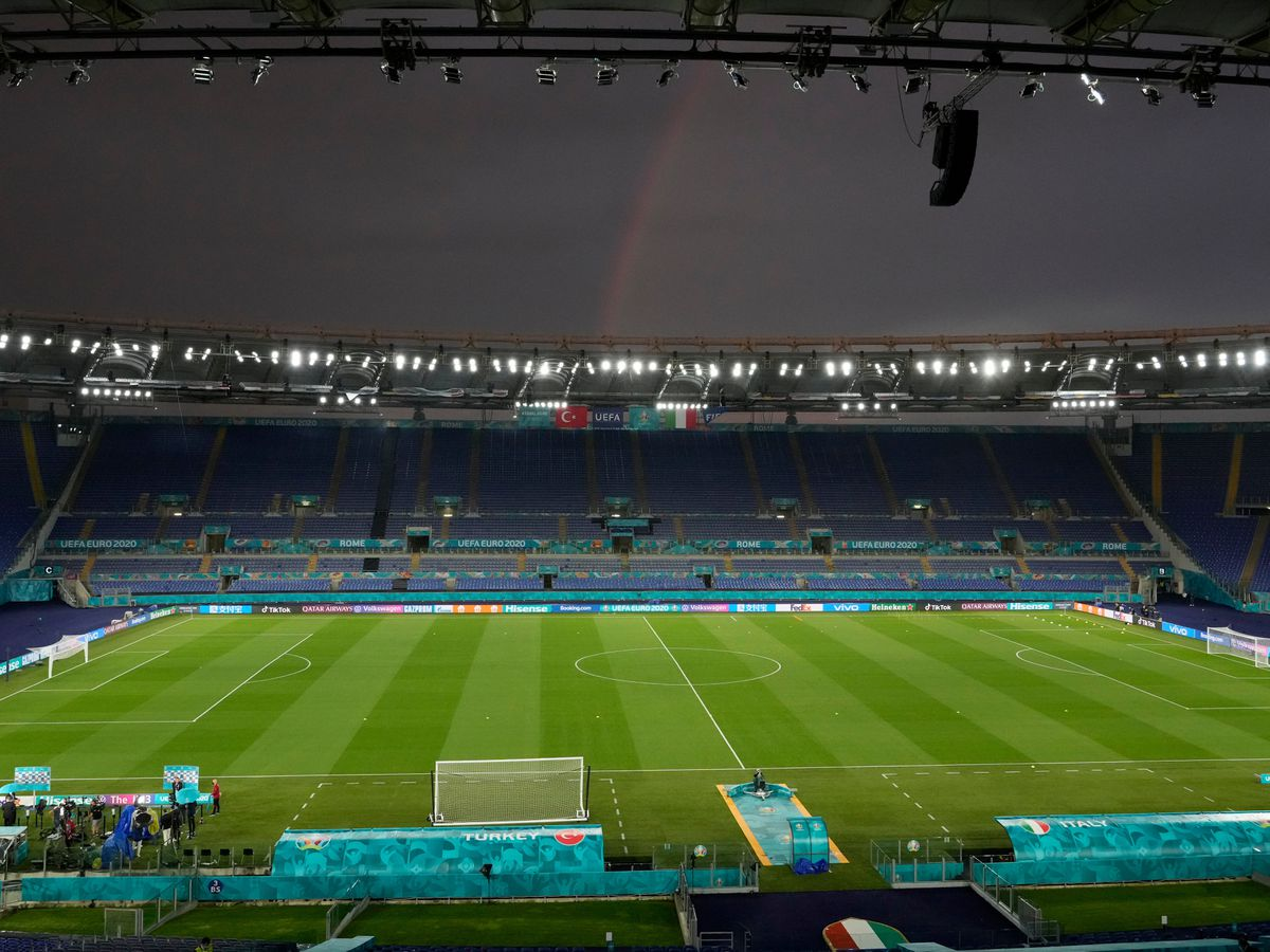 Italy take on Turkey in the opening game of Euro 2020 in Rome
