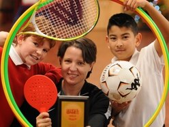 Golden award for sporting Stafford school