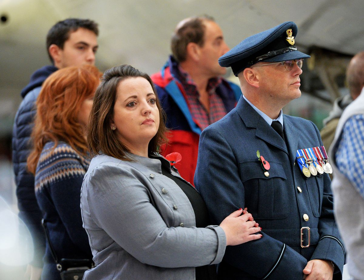 The Remembrance Service at RAF Cosford
