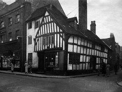How black and white shop is rare Wolverhampton city centre survivor