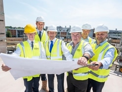 Metro Mayor Andy checks progress at Walsall town centre project