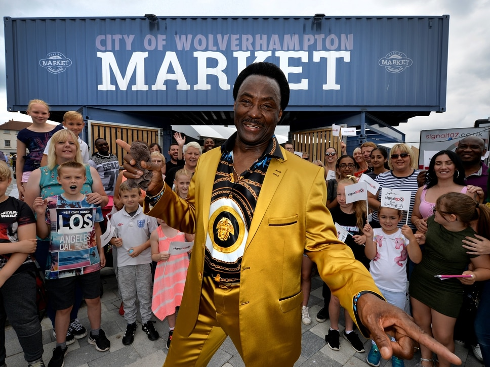 Thousands flock to Wolverhampton Market's official launch – including BGT star Donchez