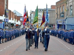 Battle of Britain remembrance parade and service held in Dudley