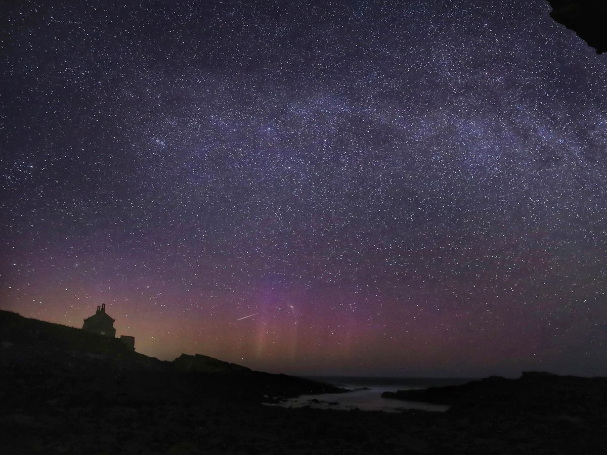The night sky (Owen Humphreys/PA)