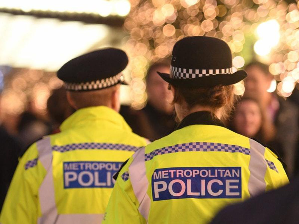 Met Police officers