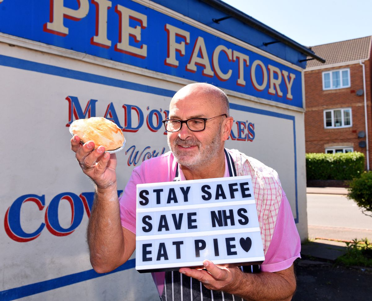 Pete Towler of the Pie Factory in Tipton