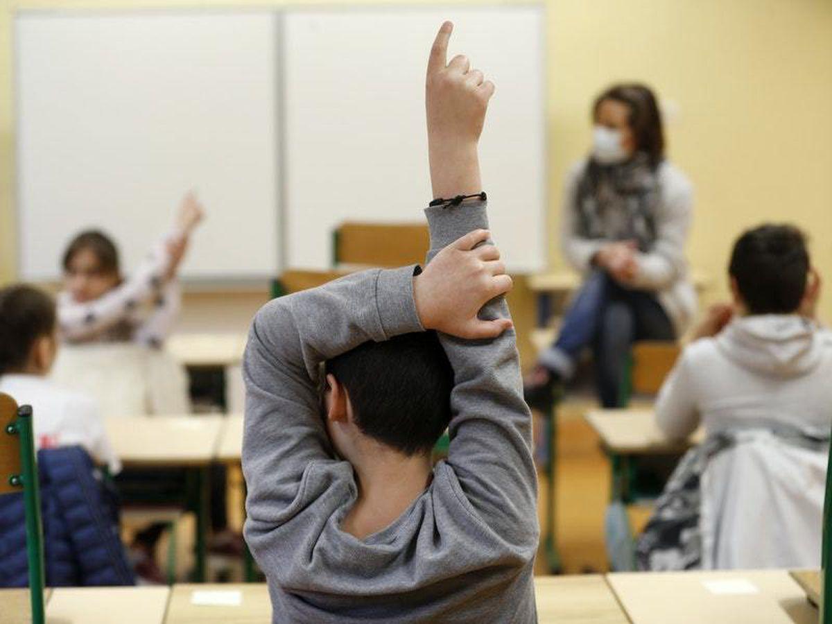 French children in school
