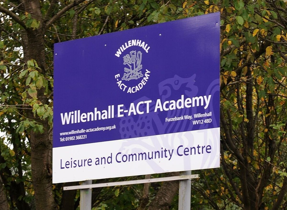 Staff and students evacuated the school in Willenhall immediately after the fire caused by a tumble dryer was discovered