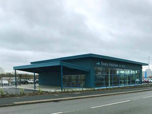 The new Evans Halshaw Car Store in Shrewsbury
