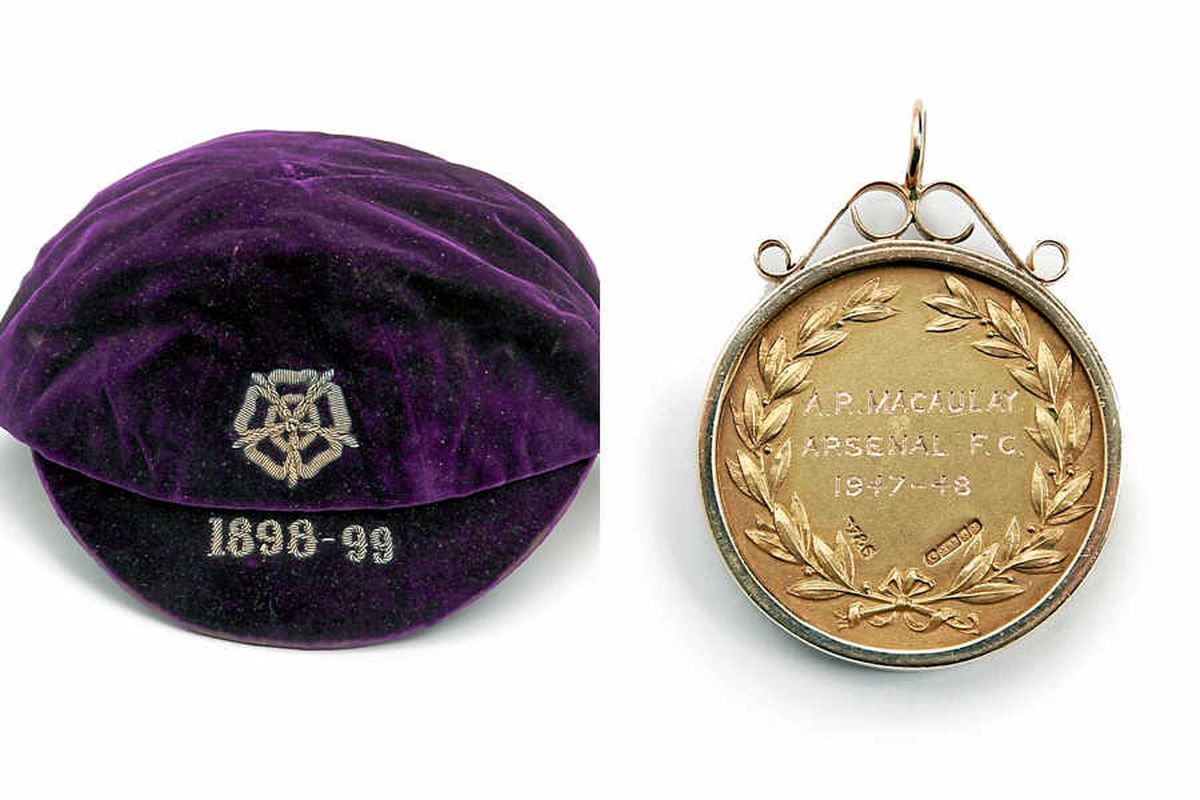 Villa star Charlie Athersmith's England caps set to be sold for £1,000 each