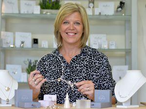 Ruth Hollick who runs Mayflower Bespoke Jewellery in Rugeley