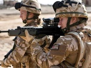 Female soldiers - both past and present - have reported experiencing bullying, harassment and discrimination. Stock photo