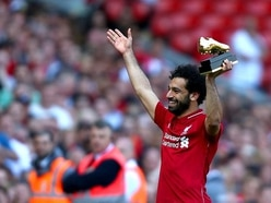 Watch Anfield cheer Salah's daughter on as she kicks a ball round the pitch