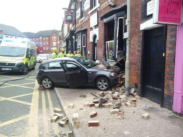 Business as usual at Ma Pardoes despite car-crash damage