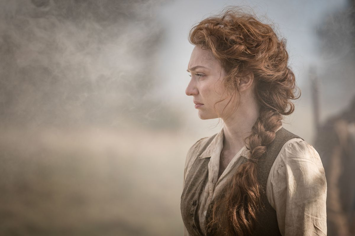 Eleanor Tomlinson in The War of the Worlds