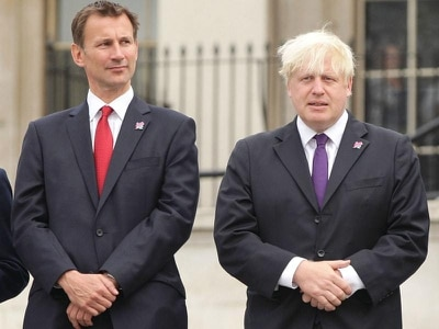 Live coverage: Boris Johnson and Jeremy Hunt await Tory leadership result