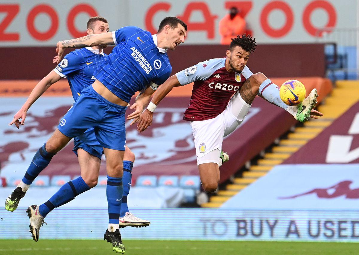 Aston Villa's Tyrone Mings