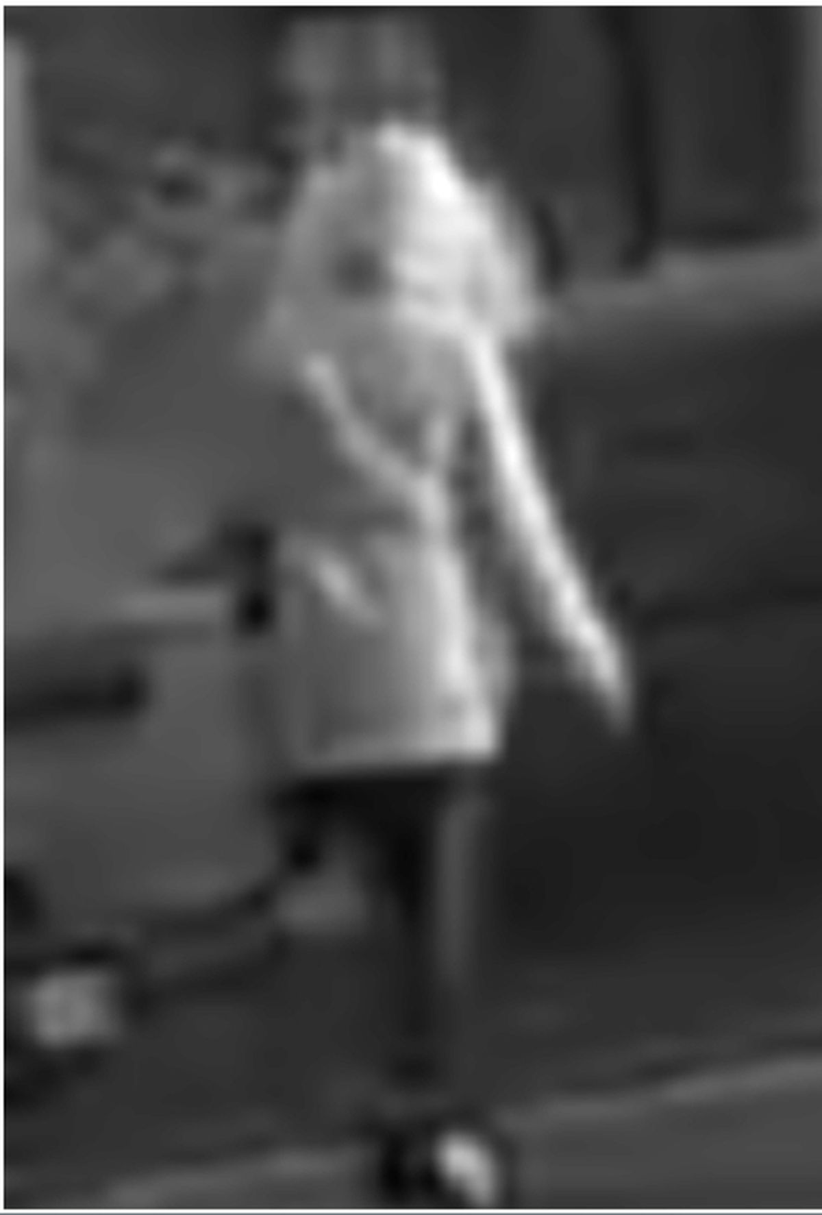 CCTV images released by police of the mysterious female figure